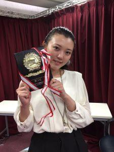 第11回オータムチャンピオンシップ中山百合子