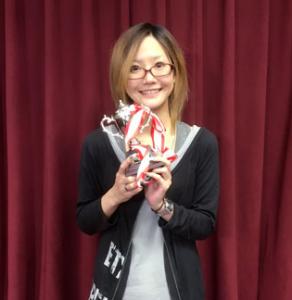 蔵美里オータムチャンピオンシップ優勝